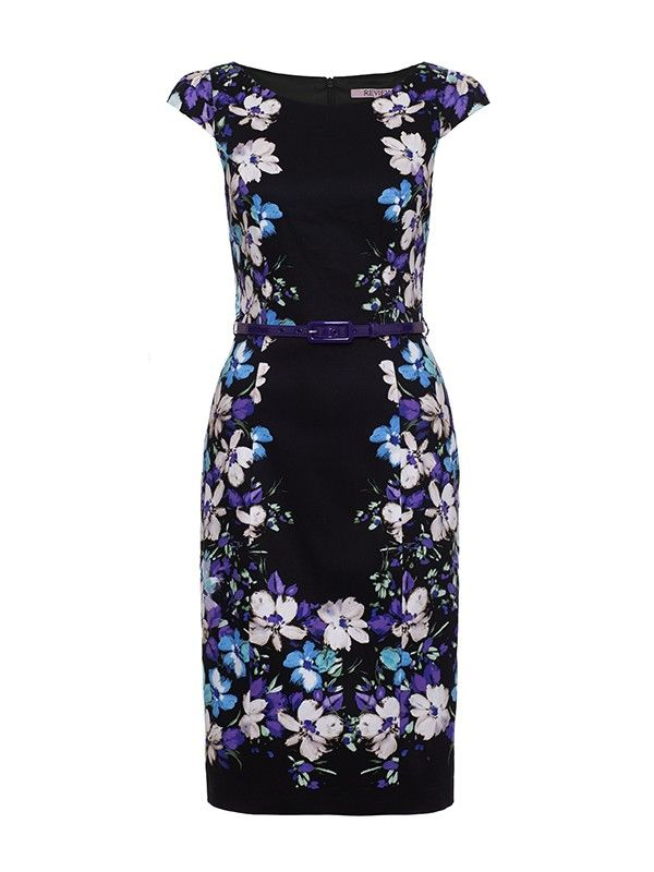 Conservatory Fitted Floral Dress
