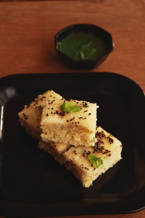 rava dhokla or instant sooji dhokla is a tasty and easy to make snack recipe made with sooji or rava. It is an easier version of popular north indian dhokla
