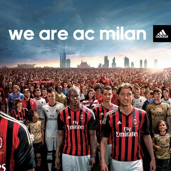 We are AC Milan.