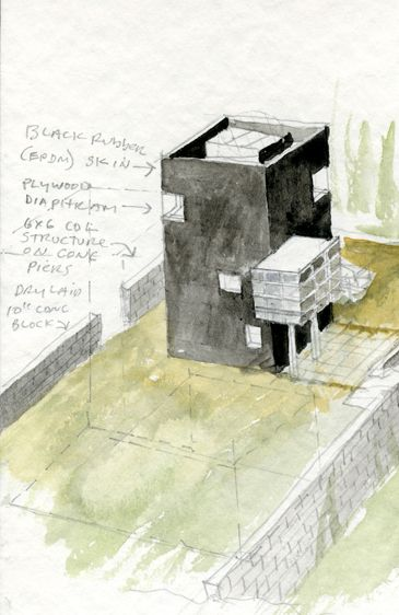 Tower of Silence - Steven Holl Architects