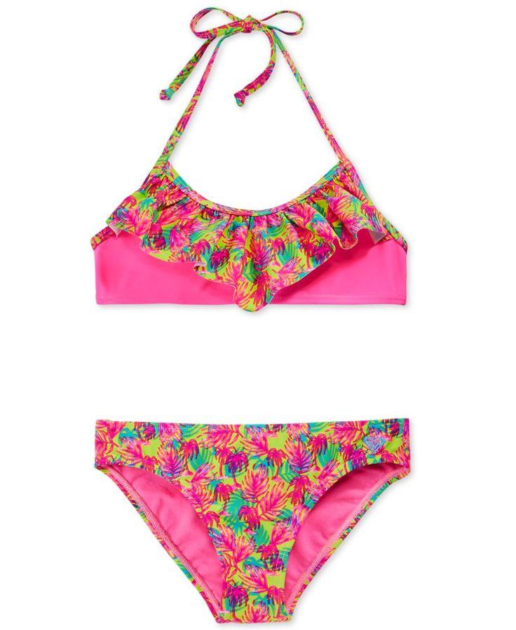 Roxy Girls' Paradise Beach Bandana Bikini