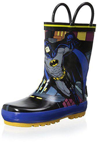 Batman Kid's Rain Boot with Batman, Black, 7 M US Toddler... https://www.amazon.com/dp/B00HUWK74U/ref=cm_sw_r_pi_dp_g73Hxb7XZNJK2