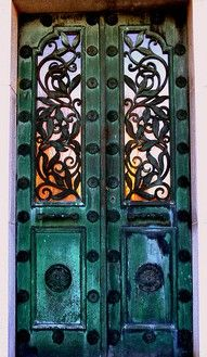 17 Best Images About Wrought Iron Glass Door On Pinterest