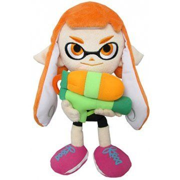Splatoon All Star Collection Plush: Girl A (S) | @giftryapp