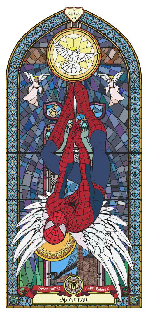 Peter Parker - SUPER B.C £240.00  By Gary John Jones  Image 500mm x 841mm on 600mm x 941mm paper UV Digital Printing on 320gms Fuji Velvet Rag Hand Signed,Numbered & Unframed Limited Edition of 45
