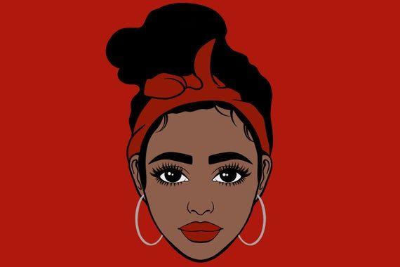 Woman Face Svg And Png Clipartfashion Illustrationplanner Etsy Illustration Clip Art Free Clip Art