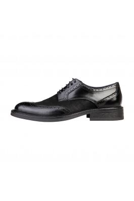 Pantofi pentru barbati marca Versace 1969 BASTIEN negri