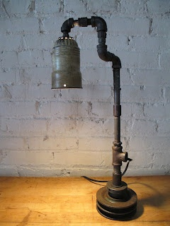 17 best images about pipe lamps on pinterest cool for Pipe lamp plans
