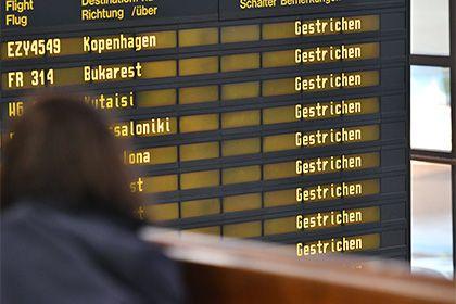 В аэропортах Берлина за день отменят свыше 600 рейсов http://mnogomerie.ru/2017/03/13/v-aeroportah-berlina-za-den-otmeniat-svyshe-600-reisov/  Берлинские аэропорты Тегель и Шёнефельд в понедельник, 13 марта, отменят 660 рейсов из-за забастовки сотрудников наземных служб. Об этом сообщает Reuters. В частности, в Тегеле будут аннулированы 465 вылетов, в Шёнефельде — 195. Представитель Тегеля отметил, что речь идет об отмене практически всех рейсов в Берлине. Флагманский перевозчик Германии…