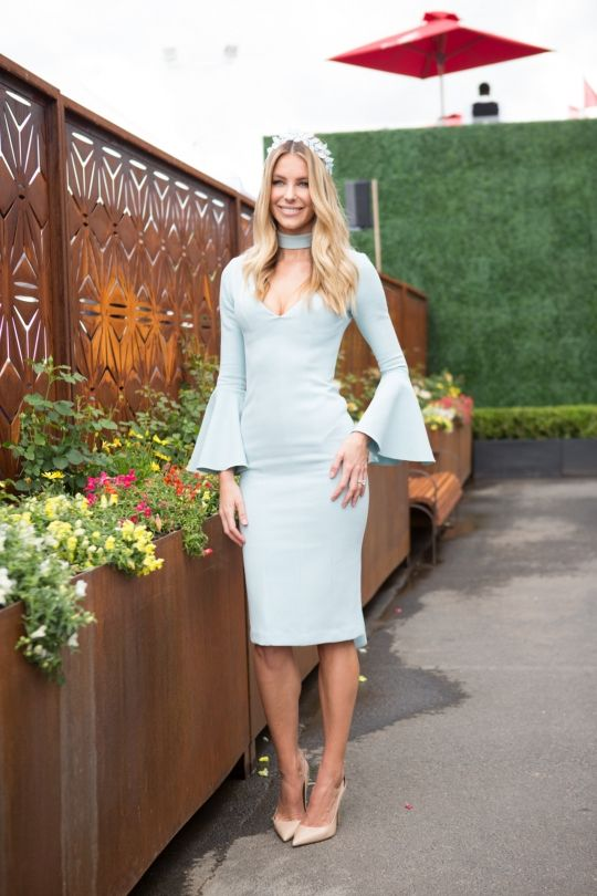 Street style from Oaks Days 2015: Jennifer Hawkins