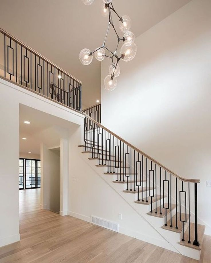 33 Staircase Designs Enriching Modern Interiors With: 33 Ultimate Farmhouse Staircase Decor Ideas And Design (8