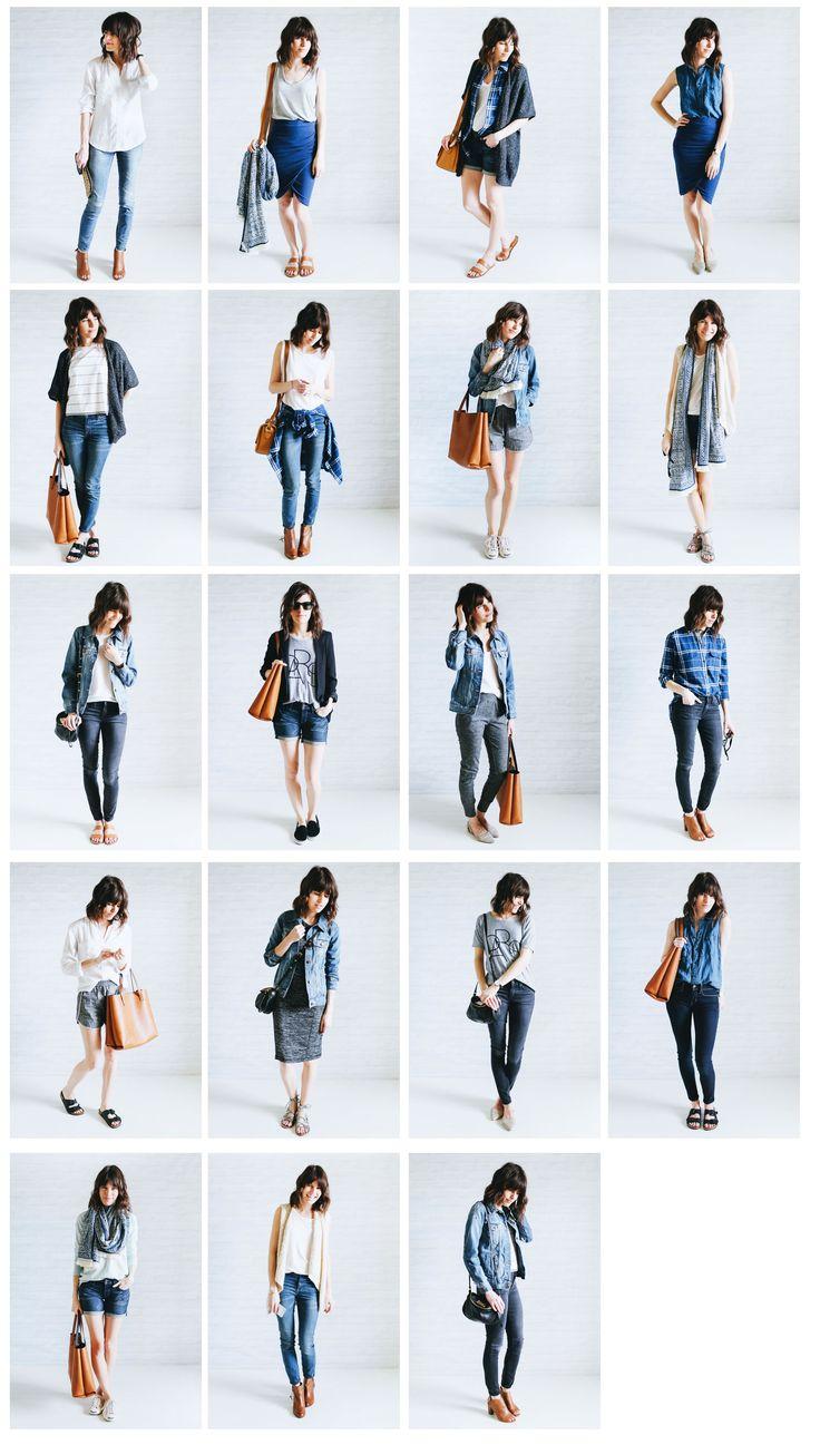 The 25+ Best Capsule Wardrobe Ideas On Pinterest