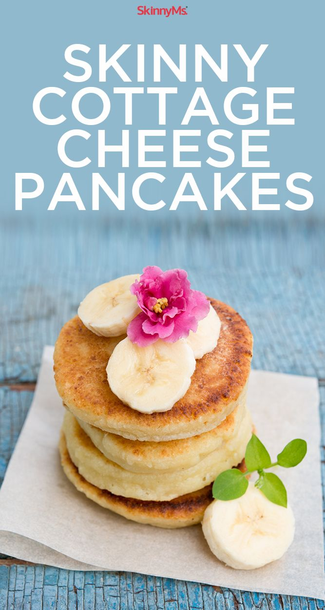 Skinny Cottage Cheese Pancakes: You've never had pancakes like these before!