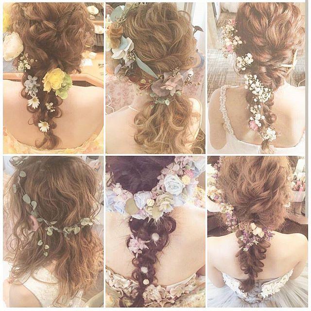 ❁❁❁ カリスマ美容師@yuudai.rire さんは、 可愛らしいお花をつかった #ゆるふわアレンジ がとってもお得意♡。 * フリーランスで働いていて、もちろん花嫁さん用の #ブライダルヘア も担当しているので ぜひ結婚式当日の髪型をお任せしてみては? * Photo by @yuudai.rire * #marryのトップページに初雪ひらひら #見てね❄ #花嫁ヘア #ヘアアレンジ #ヘアセット #お花 #お呼ばれヘア #編み込み #波ウェーブ #ゆるふわ #結婚式準備 #プレ花嫁 #marryxoxo
