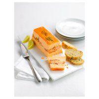 Waitrose layered salmon terrine