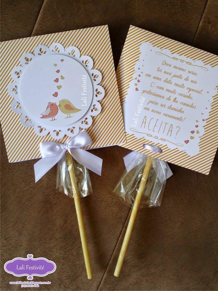 Convite de pajens e daminhas | Casamenteiras