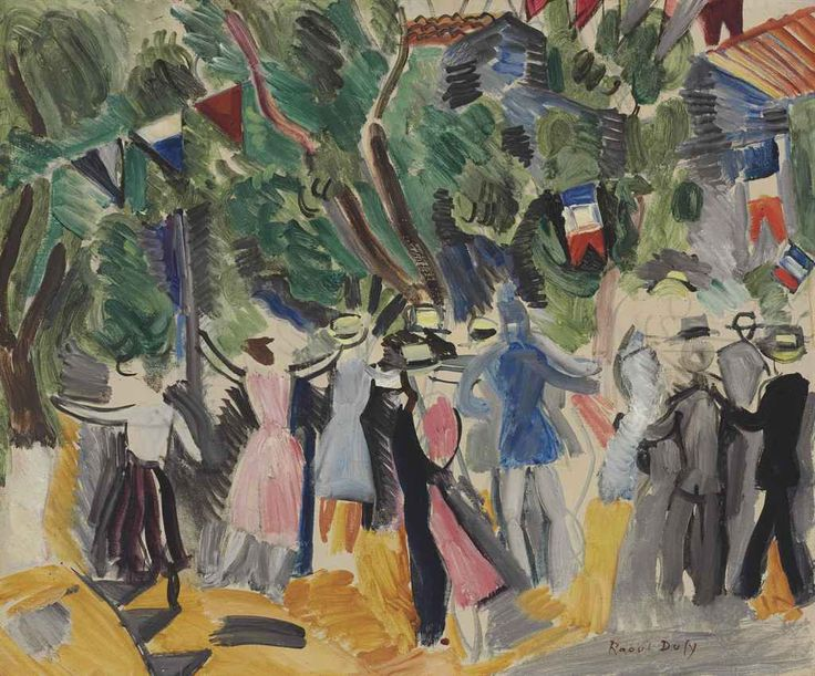 Raoul Dufy (1877-1953) Le Bal