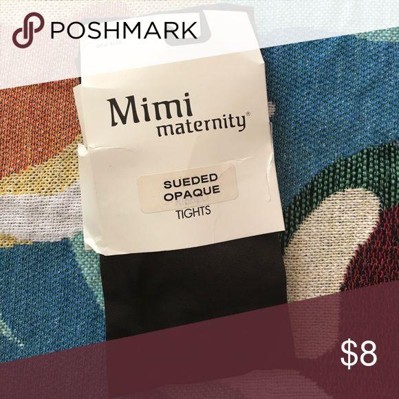 Maternity Tights Maternity tights. Never worn. Brand new. Espresso color. Mimi Maternity Accessories Hosiery & Socks