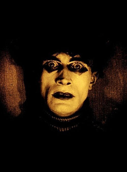 """Conrad Veidt en """"El Gabinete del Dr. Caligari"""", 1920"""