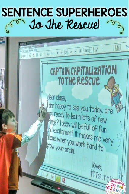 Capitalization and punctuation practice, activities, and anchor charts to use with your students. Help make your students proficient in the rules of proper capitalization and punctuation while having fun doing it!