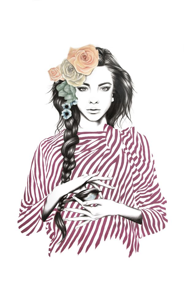 Beauty Illustrations by Amanda Mocci