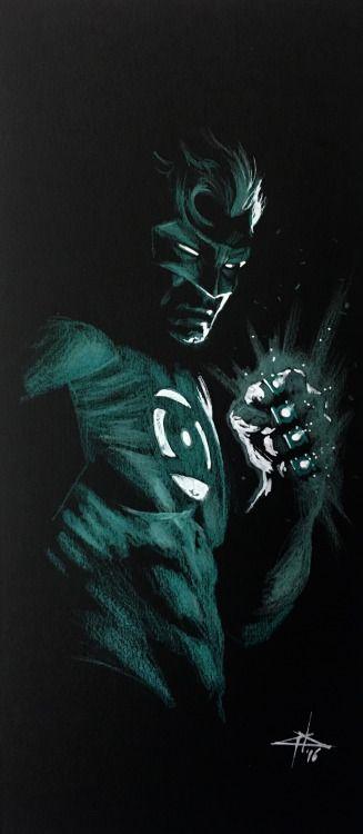 Hal Jordan/Green Lantern - Gabriele Dell'Otto