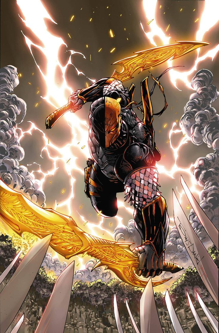 Deathstroke by Tony Daniel *