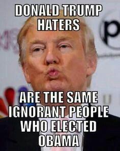 Yep!! Vote for Donald Trump 2016! Make America Great Again!