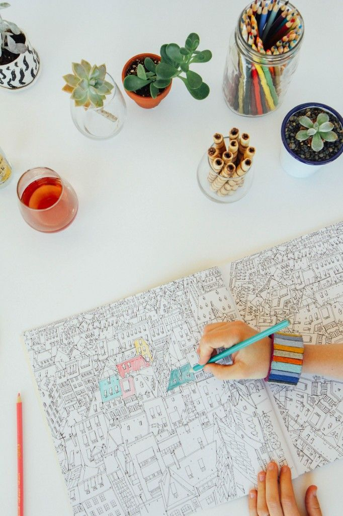 How To Throw A Coloring Party