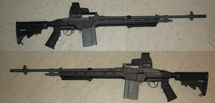 M14 with Synthetic Polymer Furniture