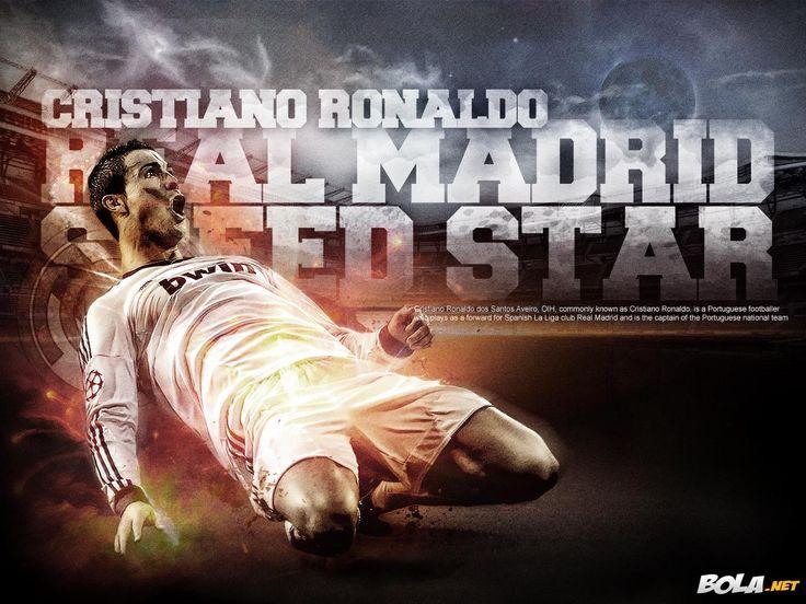 Bola.net: Download Wallpaper - Cristiano Ronaldo