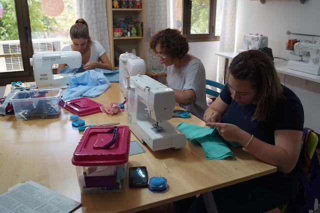 The Crafty Room: El taller de junio de la Academia Burda