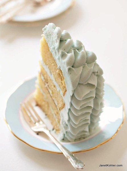 For recipes and cake decorating ideas visit Janetkohler.com