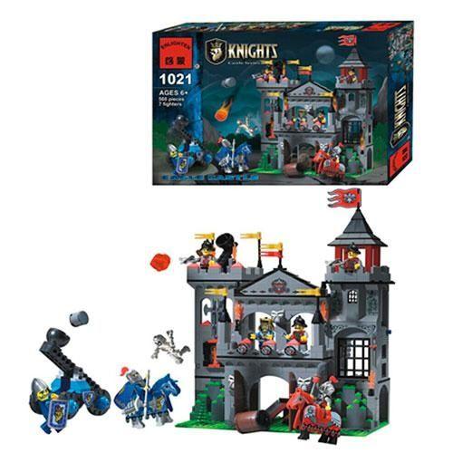 Конструктор Brick 1021 Рыцари Замок Орла (568 дет.)