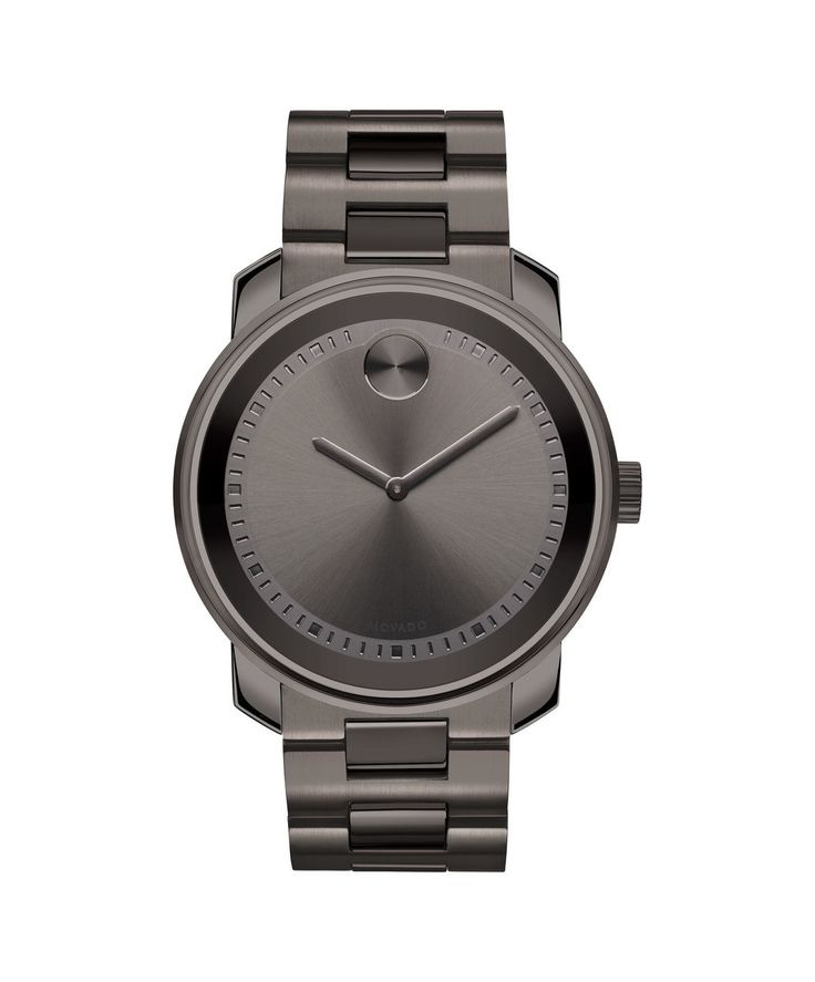 Movado Large BOLD Men's Gunmetal Gray Watch 3600259