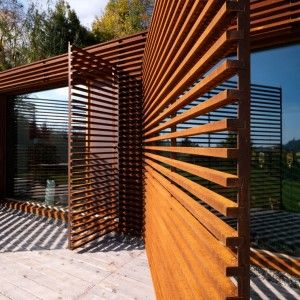 Yardcore backyard privacy screens privacy screen with for Screen walls for deck