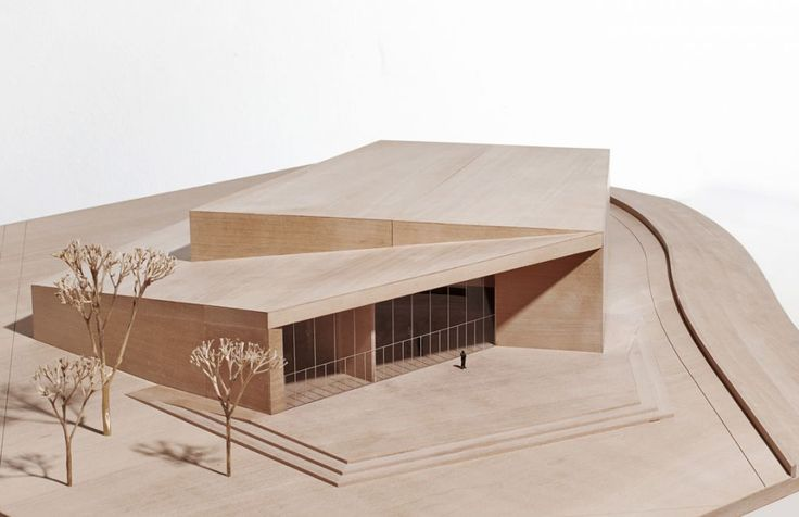Concert hall, architectural model