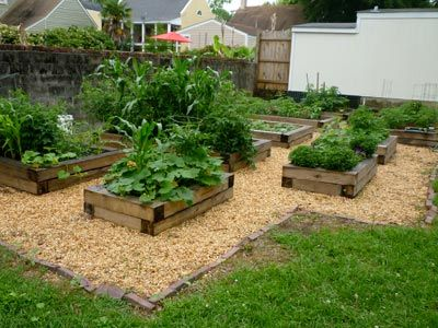 Community Garden Ideas the garden sits alongside a pond and park in the center of town Find This Pin And More On Community Garden Ideas