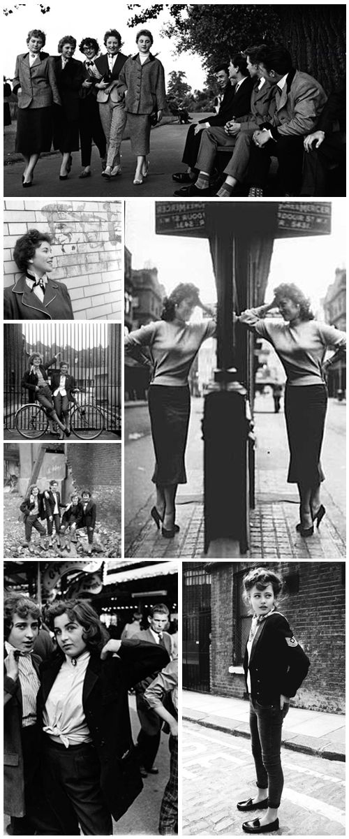 If only I was born in Britain and grew up during this time. I love the Teddy Girl style.