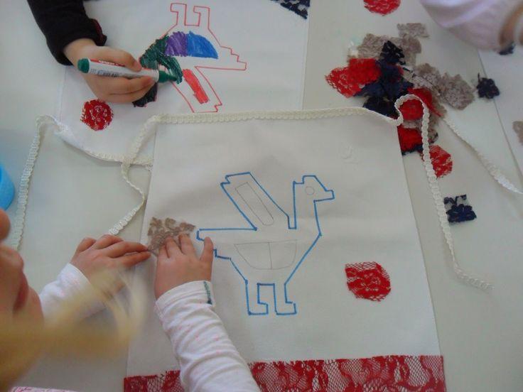 Πάμε Νηπιαγωγείο: Παραδοσιακή ποδιά και λαϊκή τέχνη.