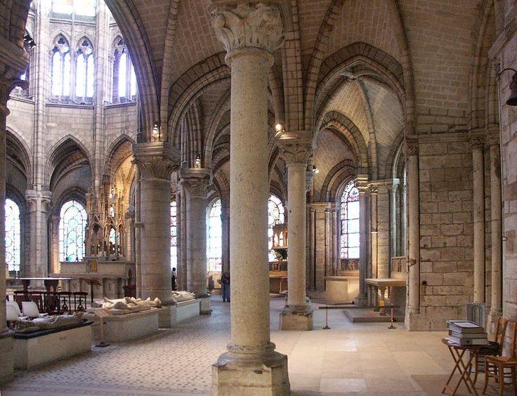 Basilica Of St Denis Choir Interior Endroits Pr F R S