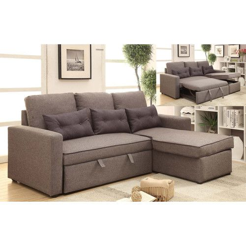 Found it at Wayfair - Sleeper Sectional