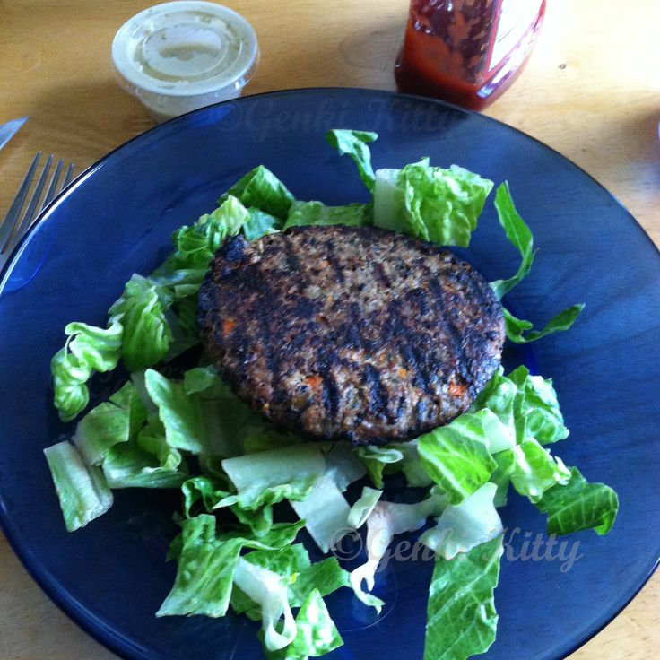 Aldi's Vegan Burgers