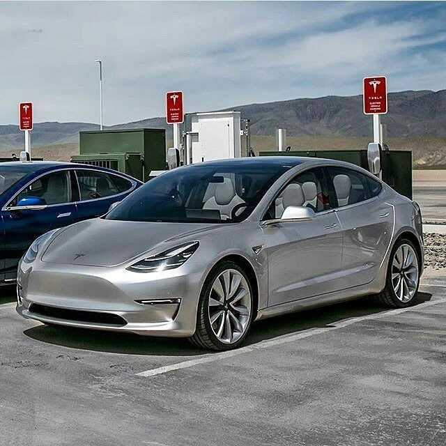 teslamotorsnewsMore, more and more Model 3 in the wild
