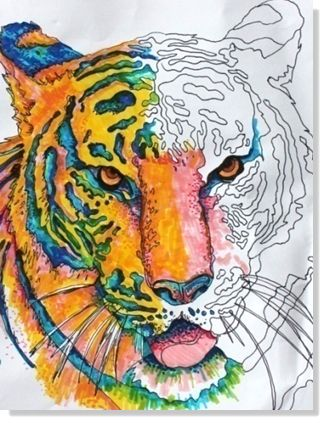 Free High School Art Lesson Plan - Magic of Markers - Download now!