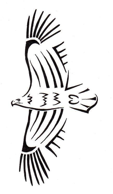 simple eagle tatoo - - Yahoo Image Search Results