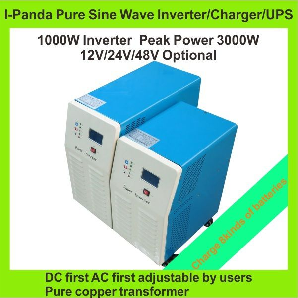 New Promotion 1000W Pure Sine Wave Off Grid Solar Power Inverter, DC/AC Power Inverter,DC12V DC24V DC48V CE,RoHS