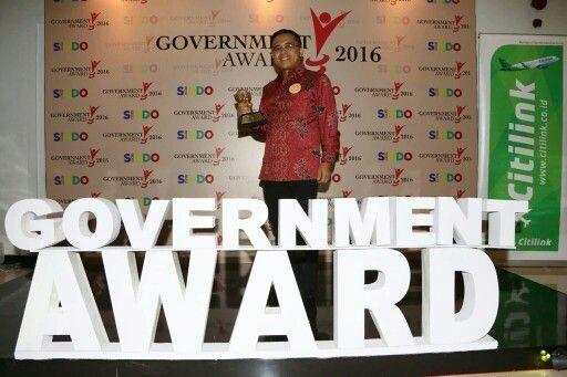 Selamat..Banyuwangi raih Goverment Award 2016 @mnckoransindo..Kabupaten dengan tingkat pertumbuhan ekonomi terbaik nasional.