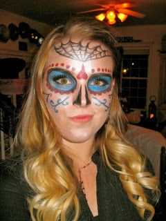 What Do Day Of The Dead Face Painting Designs Mean