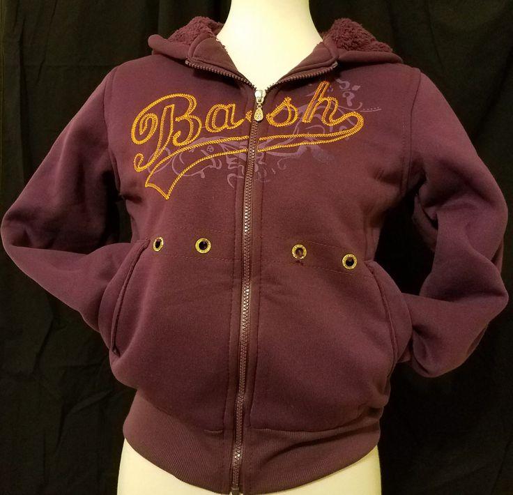 "Purple hoodie ""Bash"""